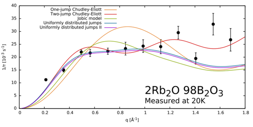 Typical result of an aXPCS experiment.